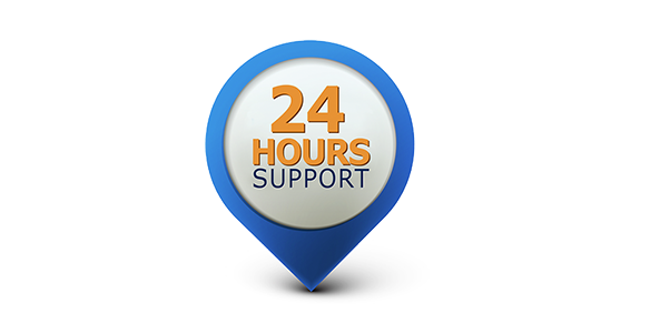 24hour Support